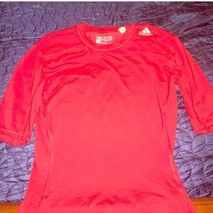 Adidas Short Sleeve Compression Shirt